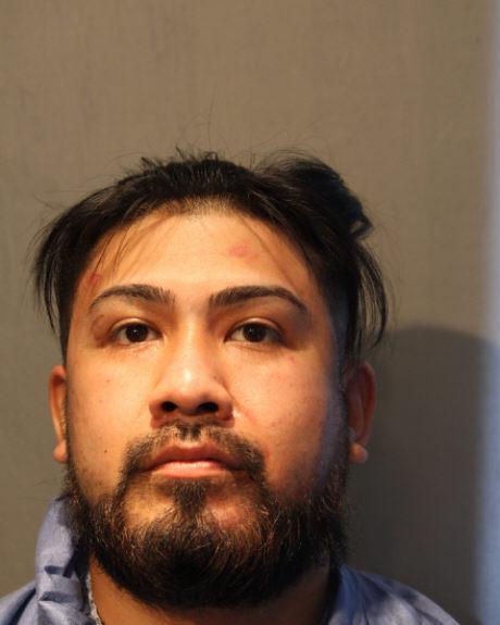 Luis Pedrote Salinas mugshot - Chicago Police